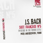 Album artwork for Bach: French Suite and Ouverture Anderszewski