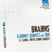 Album artwork for Brahms: Clarinet Quintet and Trio