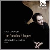 Album artwork for Shostakovitch: The Preludes & Fugues / Melnikov