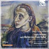 Album artwork for Krenek: Sechs Motetten nach Worten von Franz Kafka