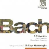 Album artwork for Bach: Easter & Ascension Oratorios / Herreweghe