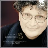 Album artwork for Mozart : Symphonies 39, 40 / Jacobs
