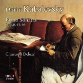 Album artwork for Dmitri Kabalevski: Piano Sonatas