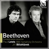 Album artwork for Beethoven: Complete Piano Concertos / Lewis