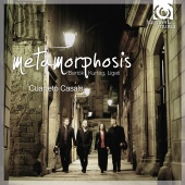 Album artwork for Metamorphosis - Cuarteto Casals - Bartok, Kurtag,