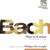 Album artwork for Bach: Mass in B Minor Herreweghe
