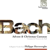 Album artwork for BACH: ADVENT & CHRISTMAS CANTATAS