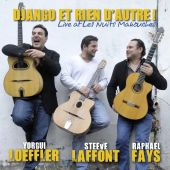 Album artwork for Nothing but Django live at les nuits manouches