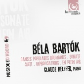 Album artwork for Bartók: Piano Works