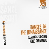 Album artwork for Clementic Consort: Dances of The Renaissance