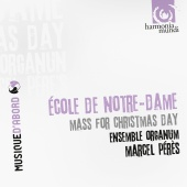 Album artwork for Ecole de Notre Dame: Mass for Christmas Day