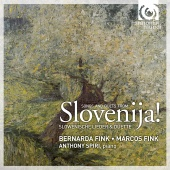 Album artwork for Slovenija! Songs and Duets - Slovenic Art Songs
