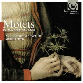 Album artwork for J.S. Bach: Motets / Vocalconsort Berlin, Creed