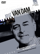 Album artwork for Jose Van Dam: singer & teacher