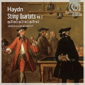 Album artwork for Haydn: String Quartets Vol.2 / Jerusalem Quartet