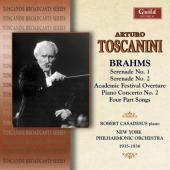 Album artwork for Brahms conducted by Toscanini