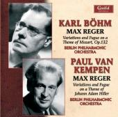 Album artwork for Max Reger, Karl Bohm & Paul van Kempen