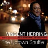 Album artwork for Vincent Herring: Uptown Shuffle