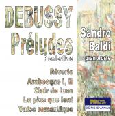 Album artwork for Debussy: Préludes, Book 1, L. 117