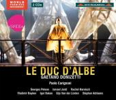 Album artwork for Donizetti: Le Duc d'Albe / Carignani