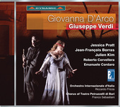 Album artwork for Verdi: Giovanna d'Arco / Pratt, Borras