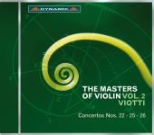 Album artwork for Masters of the Violin vol.2 - Viotti