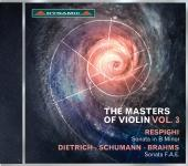 Album artwork for The Masters of Violin vol. 3 - Respighi / Dietrich