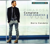 Album artwork for Cimarosa: Complete Keyboard Sonatas, Vol. 1