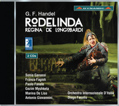 Album artwork for Handel: Rodelinda / Ganassi, Fagioli