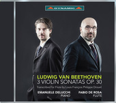 Album artwork for Beethoven: 3 Violin Sonatas, Op. 30 (Arr. for Flut