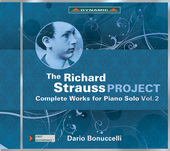 Album artwork for Richard Strauss Project: Complete Piano Works #2