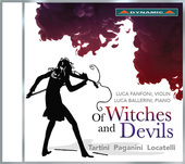 Album artwork for Of Witches and Devils - Pagnini, Tartini, Locatell