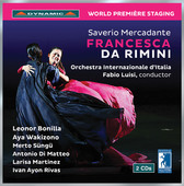 Album artwork for Mercadante: Francesca da Rimini (Live)