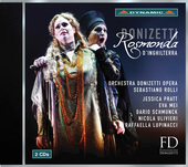 Album artwork for Donizetti: Rosmonda d'Inghilterra (Live)