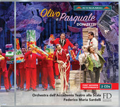 Album artwork for Donizetti: Olivo e Pasquale (Live)