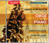 Album artwork for Coste: Works for Oboe & Piano