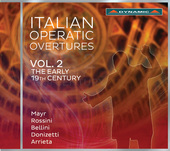 Album artwork for Italian Operatic Overtures, Vol. 2 - The Early 19t