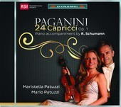 Album artwork for Paganini: 24 Caprices, Op. 1, MS 25 (Acc. by R. Sc