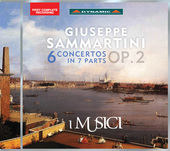 Album artwork for Sammartini: 6 Concertos in 7 Parts, Op. 2