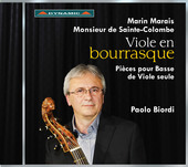 Album artwork for Viole en bourrasque: Pièces pour basse de viole s