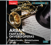 Album artwork for Arban: 14 Fantasias on Verdi Operas