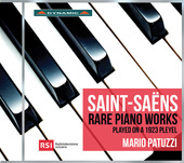 Album artwork for Saint-Saëns: Rare Piano Works Played on a 1923 Pl