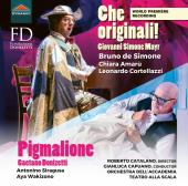 Album artwork for Donizetti: Pigmalione - Mayr: Che originali!