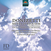 Album artwork for Donizetti: Messa da Requiem