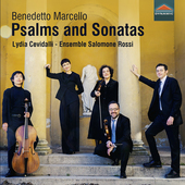 Album artwork for Marcello: Psalms and Sonatas