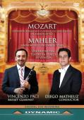 Album artwork for Mahler: Symphony 1, Mozart: Clarinet Concerto