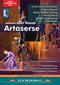 Album artwork for Hasse: Artaserse / Fagioli, Prina
