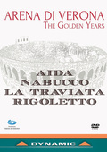 Album artwork for Arena di Verona - The Golden Years