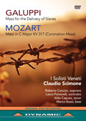 Album artwork for Galuppi: Mass for the Delivery of Slaves - Mozart: