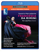 Album artwork for Mercadante: Francesca da Rimini